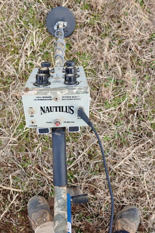Nautilus Metal Detector Review